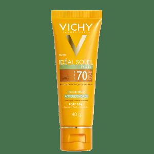 VICHY IDÉAL SOLEI PURIFY TOQUE SECO COR MÉDIA FPS70 40G