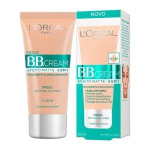 B.B. CREAM 5 EM 1 FPS50 COR CLARA L'OREAL 30ML