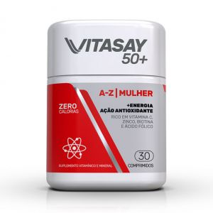VITASAY50+ A-Z MULHER COM 30 COMPRIMIDOS
