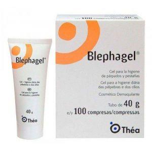 BLEPHAGEL 40G COM 100 COMPRESSAS