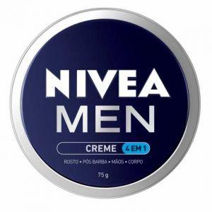 CREME NIVEA MEN 4 EM1  75g VALIDADE 11/2021