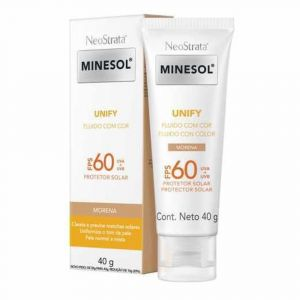 MINESOL PROTETOR SOLAR UNIFY MORENA FPS60 40G