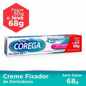 COREGA ULTRA SEM SABOR LEVE 68G PAGUE 50G