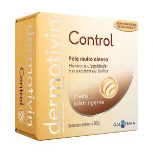 DERMOTIVIN SABONETE EM BARRA  CONTROL 90G X