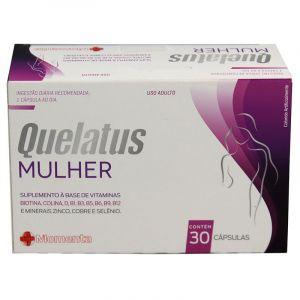 QUELATUS MULHER COM 30 COMPRIMIDOS