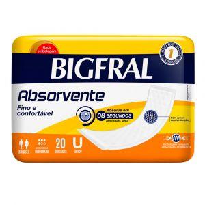 ABSORVENTE BIGFRAL BIG MAXI COM 20 UNIDADES