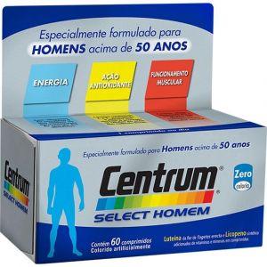 CENTRUM SELECT HOMEM COM 60 COMPRIMIDOS