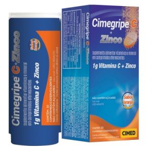 CIMEGRIPE C + ZINCO EFERV. COM 10 COMPRIMIDOS