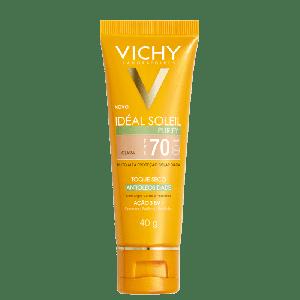 VICHY IDÉAL SOLEI PURIFY COR CLARA FPS70 40G
