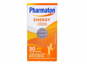PHARMATON ENERGY 30 COMPRIMIDOS VALIDADE 09/2021