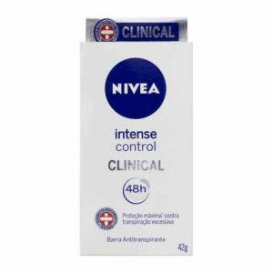 DESODORANTE NIVEA INTENSE CONTROL CLINICAL 42 G