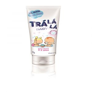 GEL DENT BABY TRALALA TUTTI-FRUTTI 70G