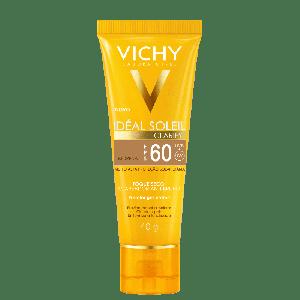 VICHY IDEAL SOLEIL CLARIFY TOQUE SECO COR MORENA FPS60 40ML