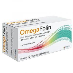 OMEGAFOLIN COM 60 CÁPSULAS GELATINOSAS