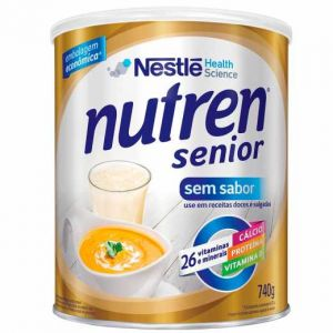 NUTREN SENIOR SEM SABOR 740 GRAMAS
