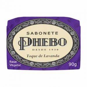 SABONETE BARRA PHEBO TOQUE DE LAVANDA 90G