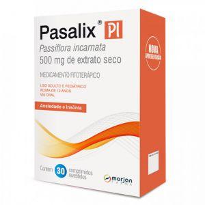 PASALIX PI 500MG COM 30 COMPRIMIDOS