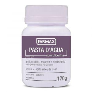 PASTA DE AGUA FARMAX COM 120G