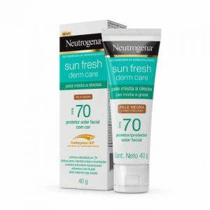 NEUTROGENA SUN FRESH  PELE NEGRA FPS 70 40G