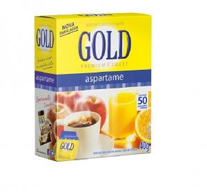 ADOÇANTE GOLD COM 50 ENVELOPES DE 800MG CADA