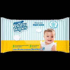 LENÇOS UMEDECIDOS BABY WIPES 48 UN